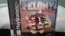 FELONY 11-79 --- PLAYSTATION PS1 Complete Tested