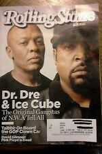 ROLLING STONE MAGAZINE #1242 -August 27, 2015 -DR. DRE & ICE CUBE N.W.A.
