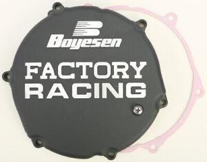 Boyesen Clutch Cover Black Kawasaki KX250 KX 250 95-02 CC12B CC12B Replacement