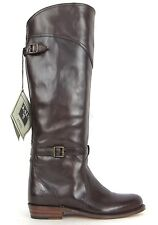 FRYE BOOTS Dorado Riding Dark Brown Leather Riding Boots 77568 SZ 6.5  $518