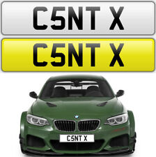 C*NT RUDE NAUGHTY CHEEKY BAD MEAN AMG GTR BMW AUDI PORSCHE PRIVATE NUMBER PLATE