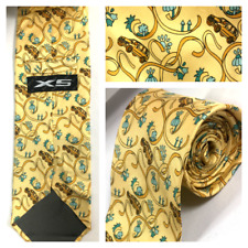 BMW Vintage Lifestyle X5 100% Silk Necktie Made In Italy. Rare. FREE SHIPPING.