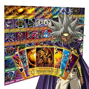 Yugioh ANIME DECK: MARIK ISHTAR | 6 Holo + 54 Common Cards | Orica Custom Karten