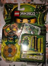 LEGO Ninjago Green Ninja Lloyd ZX (9574) Retired 2012 Very RARE and hard to find