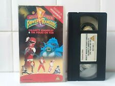 Mighty Morphin Power Rangers VHS Calamity Kimberly The Yolks On You Woolworths