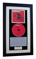 EMBRACE Out Of Nothing CLASSIC CD Album GALLERY QUALITY FRAMED+FAST GLOBAL SHIP