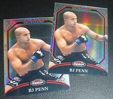 B.J. BJ Penn UFC 2011 Topps Finest Refractor Card #79 41 58 63 80 84 94 101 107