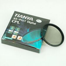 TIANYA 62mm 62 mm XS-Pro1 Glass Circular Polarizing C-PL PL-CIR Slim CPL Filter