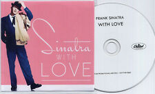 FRANK SINATRA With Love 2014 UK 16-track promo test CD