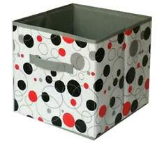 Home Storage Box Household Organizer Fabric Cube Bins Basket Container