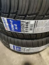 235 45 ZR 18 Bf Goodrich Comp-2 A/S Tires NEW