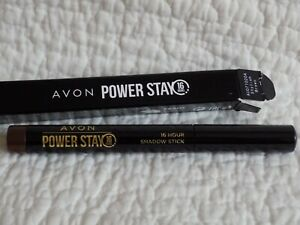 AVON ~ POWER STAY EYESHADOW & LINER COMBINATION STICK ~ STYLISH BROWN ~  *NEW*