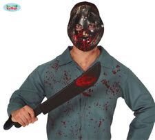 Set Maschera Hockey Jason e Machete Venerdi' 13 Halloween Guirca Art.2260
