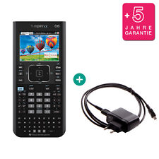 TI Nspire CX CAS Taschenrechner Grafikrechner + Ladekabel und Garantie