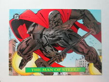 1993 DC BLOODLINES - EMBOSSED FOIL CARD - ( S1 of 4 )