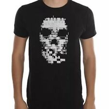 Watch Dogs - Digital Skull - Mens Small Black T-Shirt Graphic Tee