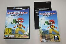 EVOLUTION WORLDS Ubi Soft Nintendo GAME CUBE GC +++RAR+++
