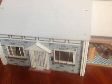 "antique dollhouse By FAO Schwarz in the 50's to the 60's. Big Size 38"" X 22"""