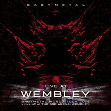 Babymetal Live At Wembley 2016 Album CD Neuf/Scellé Sse Arena