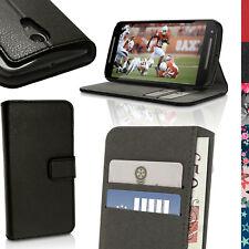 PU Leather Skin Wallet Case for Motorola Moto G 2nd Gen XT1068 Flip Stand Cover