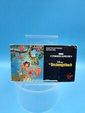 jeu video notice BE sega megadrive disney le livre de la jungle