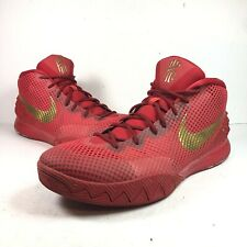 Nike Kyrie 1 NikeiD Basketball Shoe 747423 991 Size 13 Red Gold