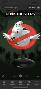 Veve NFT Collectibles Ghost Busters 1 LOGO Rare Red -FA#2027