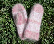 New Kids winter mittens homemade knitted goat down Fetish angora warm