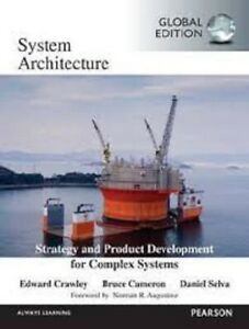 Systems Architecture 1e by Bruce Cameron Global Edition softcover