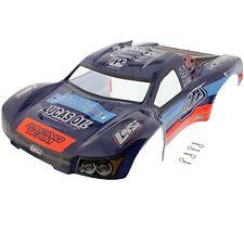 Losi 1/10 TEN-SCTE 4WD * TROY LEE DESIGNS BLACK, BLUE & ORANGE BODY & CLIPS *