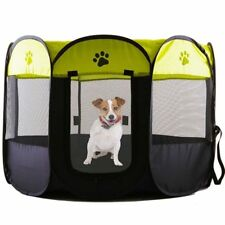 Portable Folding Pet Tent Dog House Dog Cat Tent Playpen Puppy Kennel Easy Fence
