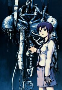 Serial Experiments Lain Poster Yoshitoshi ABe Official Art 1998