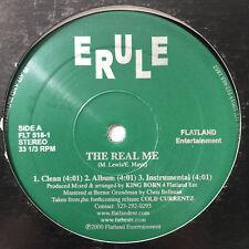 """E-RULE / ERULE - THE REAL ME / HEAR IT IS (12"""")  1998!!!  RARE!!!  KING-BORN!!!"""