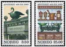 Timbres Norvège 1131/2 ** année 1995 lot 15044