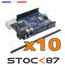 5178/10# expédition France - lot de 10 Clone Arduino UNO r3 CH340
