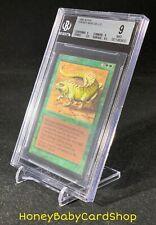 MTG Limited Edition Alpha 1993 Thicket Basilisk BGS 9.0Q++ (Quad++) Mint 93/94