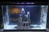 Large Magical Castle Aquarium Decor Fish Tank Pets Decorative Aquatic Ornaments