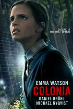 COLONIA  EMMA WATSON FACTORY SEALED DVD GIFT QUALITY! FREE 1ST CLASS SHIPPING!!