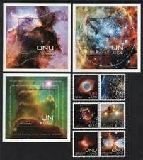U.N. MNH 2013 Space-Nebulae, Complete Set of all 3 Offices