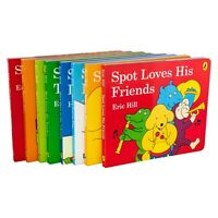 Spot's Story 8 Board Books Children Collection Hardback By - Eric Hill