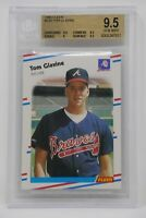 1988 Fleer #539 Tom Glavie Rookie Braves 🔥Beckett 9.5 GEM MINT