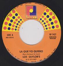 LOS SAYLOR'S {70s Tex-Mex Ranchera} La Que Yo Quiero / Mundo Abonero ♫HEAR