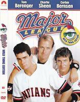"Major League (DVD, 2007, ""Wild Thing"" Edition, Widescreen) Tom Berenger"