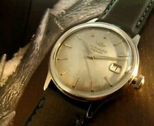 Serviced, rare Swiss Movado Kingmatic Quick Date wristwatch, 28 jewels, 538 cal.