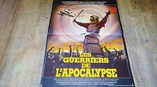 LES GUERRIERS DE L'APOCALYPSE ! kosei saito affiche cinema