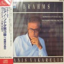 Brahms(CD Album)Sonata/Six Piano Pieces-ASV-CRCB-111-Japan-1992-New