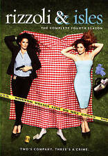 Rizzoli  Isles: The Complete Fourth Season (DVD, 2014, 4-Disc Set)