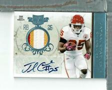 Jamaal Charles Auto Patch 2/5 2011 Plates and Patches KC Chiefs