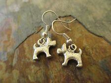 Matched Toto Dog Oz Handcrafted Earrings