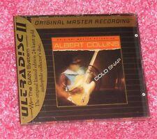 ALBERT COLLINS - Cold Snap - MFSL 24k GOLD CD NEW Mobile Fidelity OMR Texas SRV